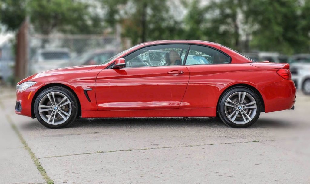 2016 BMW 4-Series 428i XDrive 2.0-L L-4 DOHC 16V AWD