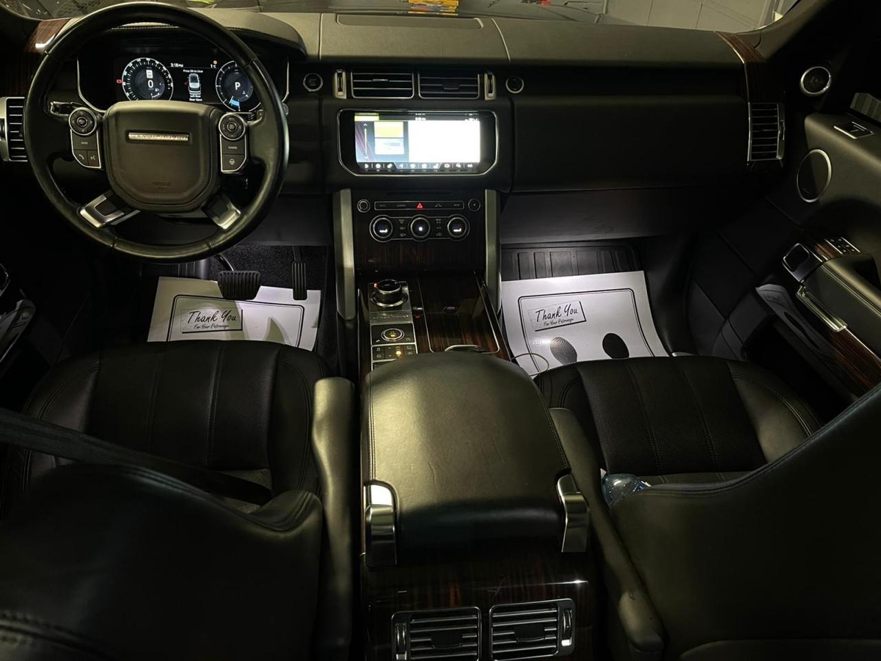 2017 Land Rover Range Rover HSE 3.0-L V-6 DOHC 24V Supercharged AWD