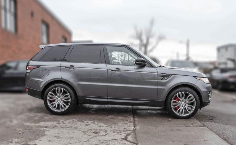 2015 Land Rover Range Rover Sport Supercharged 5.0-L V-8 DOHC 32V Supercharged AWD