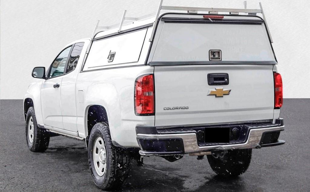 2017 Chevrolet Colorado Work Truck 2.5-L L-4 DOHC 16V Gasoline Rear-Wheel Drive