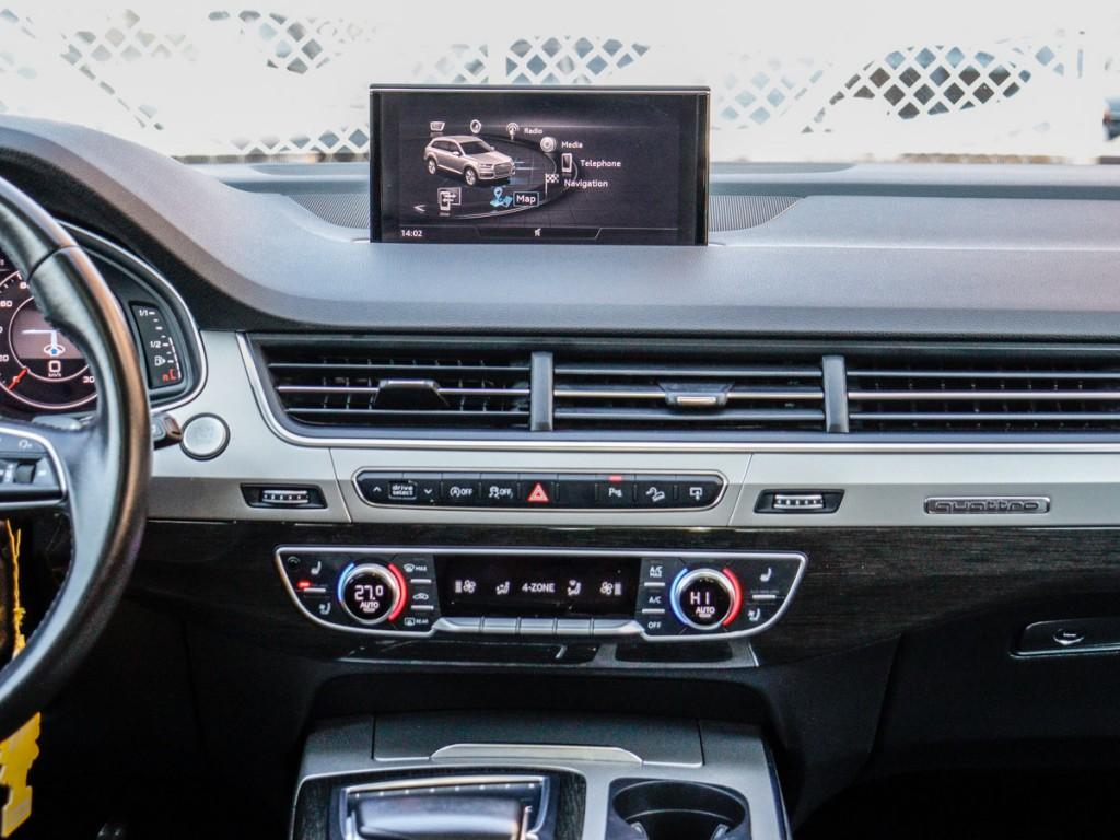 2017 Audi Q7 3.0 Premium Plus 3.0-L V-6 DOHC 24V Turbo AWD